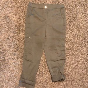Chico's utility pant, crop or ankle length